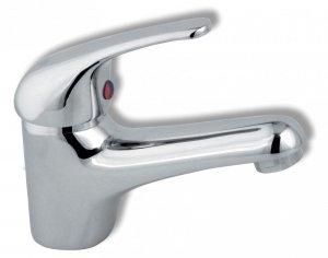 Bateria umywalkowa stojąca bez korka spustowego Titania Iris