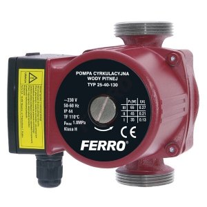 Pompa cyrkulacyjna Ferro 25-40/130