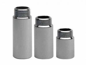 Przedłużka chromowana 1/2 50mm - 5 cm chrom