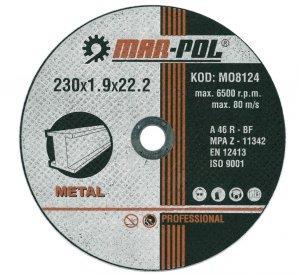 TARCZA DO CIĘCIA 230x2.0x22,2mm M-P