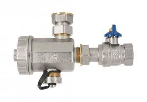 Komplet filtr magnetyczny separator zanieczyszczeń DN20 3/4''