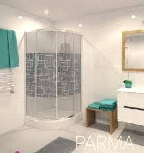 Kabina ds Parma cubic nk 90