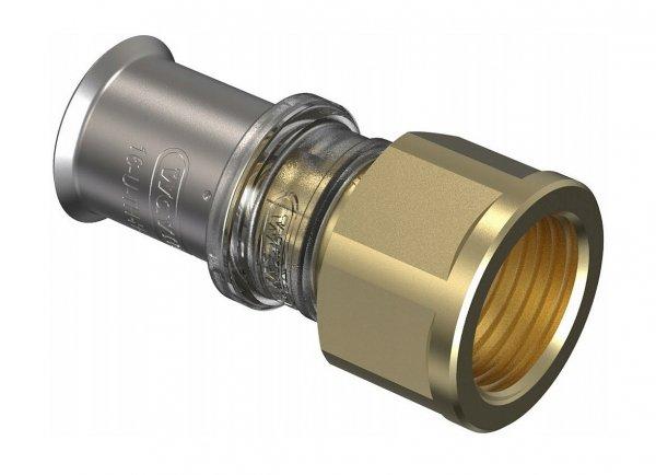Złączka pex Wavin M5 zaciskana 20x3/4 GW