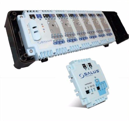ZESTAW Listwa centralna SALUS KL06 230V + moduł sterowania pompą PL06