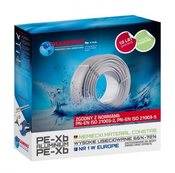 Rura PEX/Al/PEX 16x2 Diamond 50mb