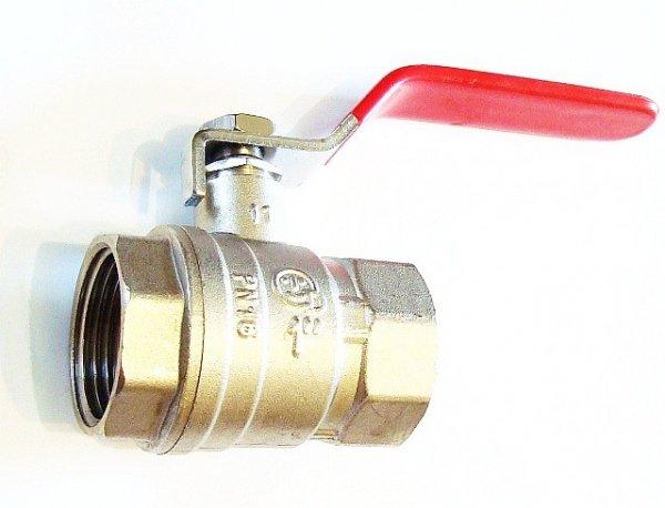 Zawór kulowy z dławicą 1 cal