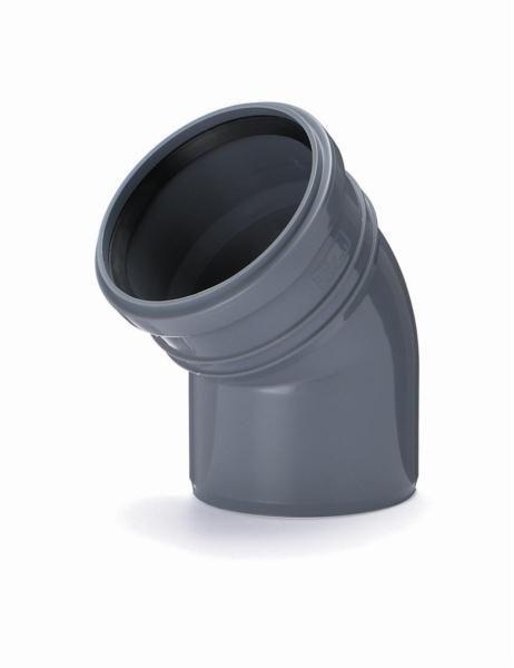Kolano PCV 110 kąt 22.5 stopnia kanalizacyjne