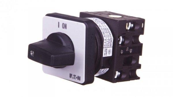 Łącznik krzywkowy 0-1 3P 20A do wbudowania T0-2-1/E 024639