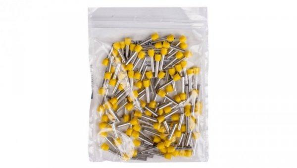 Końcówka tulejkowa izolowana TI 6mm2/18mm żółta cynowana TI6L18 /100szt./