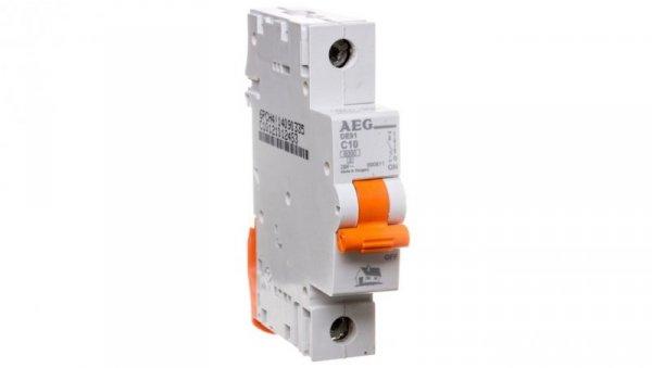 Wyłącznik nadprądowy 1P C 10A 6kA AC DE91C10 690811