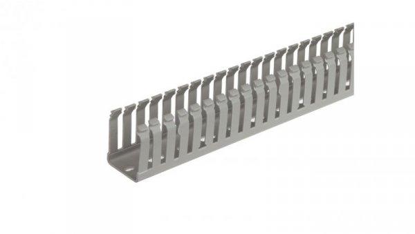 Kanał kablowy 50x 37mm 2000mm jasnoszary AK2GD3750