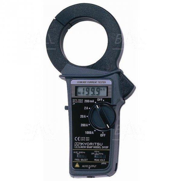 KEW2413F Miernik cęgowy AC prądu upływu 0,1mA-1000A