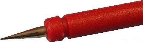 Sonda pomiarowa bezp. gn. 4mm PRUEF-2600-R, CAT III 1000V, 1A czerwony