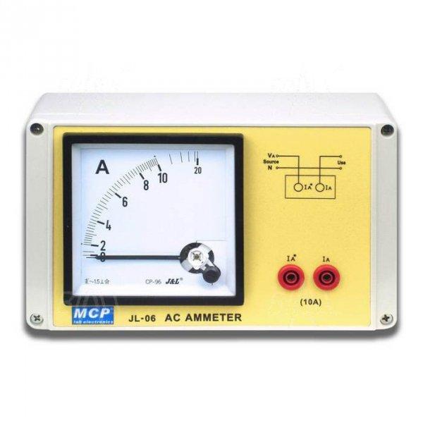 JL06 Amperomierz AC 0-10A szkolny elektromagnetyczny
