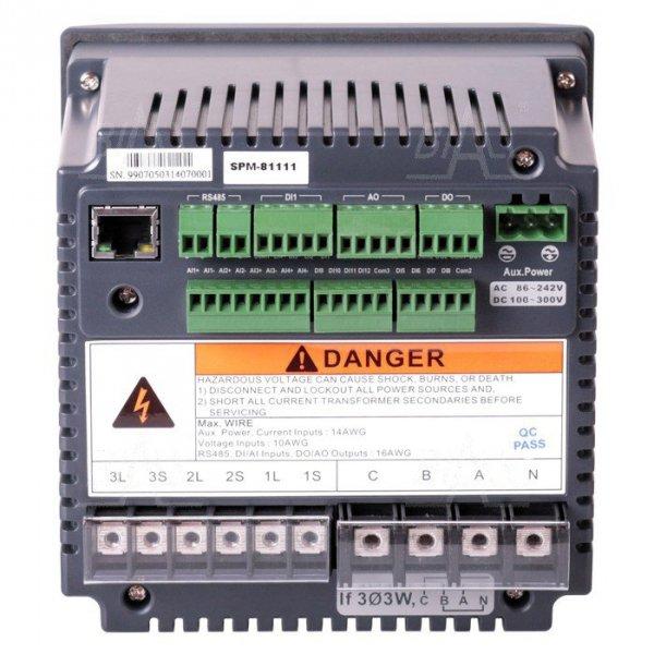 Miernik mocy 3-faz SPM-81111 SHIHLIN