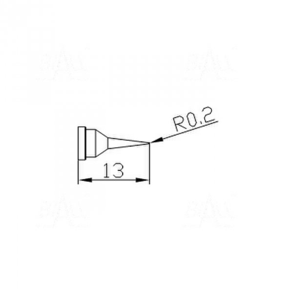 Grot 654 Stożek  0,2mm do LF2000/LF8800/LF853D