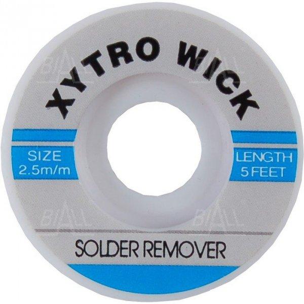Plecionka (taśma WICK)  2.5mmx1.5m  Xytronic