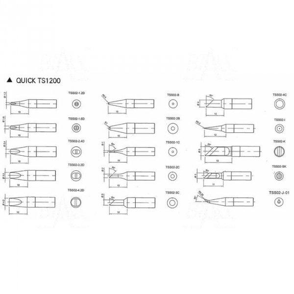 Grot TSS02-1.2D do Quick TS1200