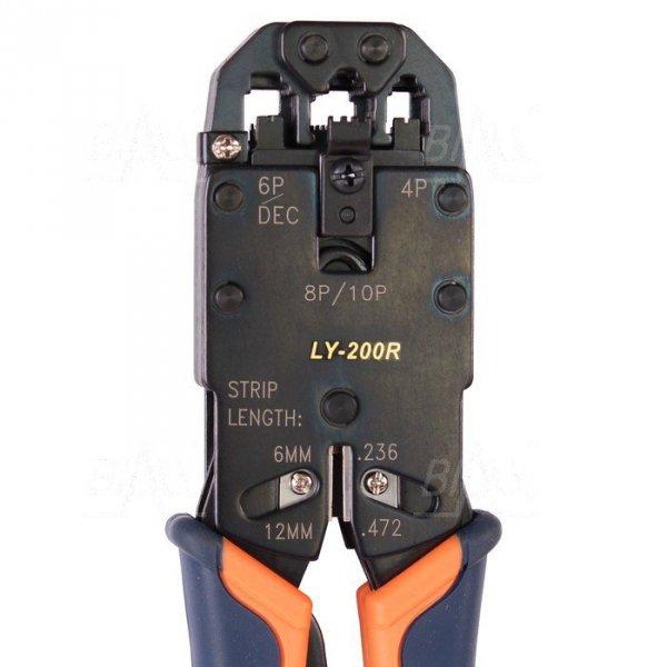OPT LY200R Zaciskarka wtyków 10p10c, 8p8c,6p6c,4p4c RJ45 RJ50