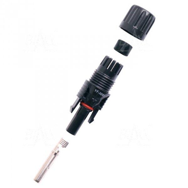 MC4 gniazdo na kabel solarny 4/6mm2 IP67