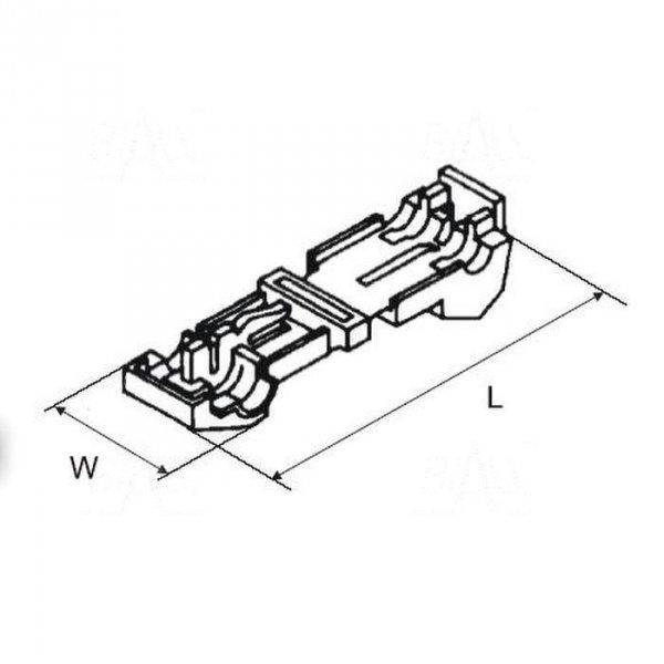 SZBIII Szybkozłączka typ III   100szt
