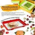 Innowacyjna tacka do utrzymywania świeżości jedzenia