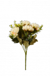 Bukiet chryzantemki z dodatkami  6 kwiatów - YSF18165