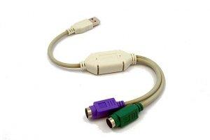 Gembird Adapter USB->2xPS2 (klawiatura+mysz) UAPS12