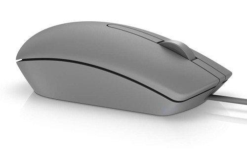 Dell Przewodowa mysz optyczna USB szara MS116