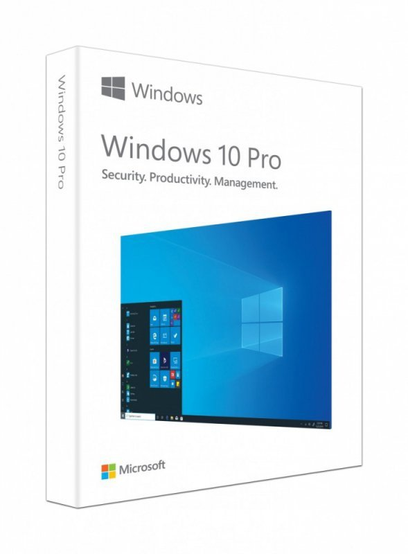 Microsoft Windows 10 Pro PL Box 32/64bit USB P2 HAV-00126. Stary P/N: FQC-10173