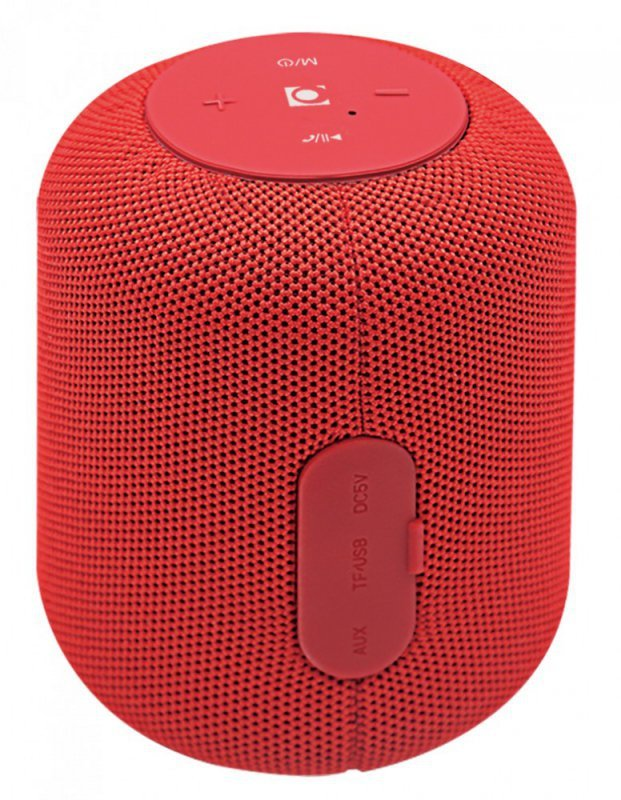 Gembird Głośnik na bluetooth z radiem Czerwony