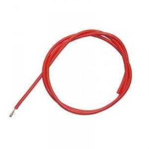 Przewód silikonowy 8AWG/6,63mm2 (czerwony) 1m