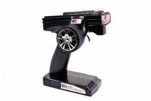 Radio pistoletowe FS-GT3B 3CH 2.4GHz z wyświetlaczem + odbiornik GR3E
