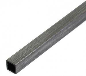 Profil węglowy kwadratowy 6,0/6,0 x 1000 mm otwór 4,0 mm