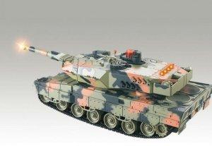 Leopard RTR 1:18 - POSERWISOWY (Uszkodzona elektronika)