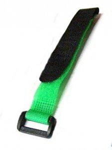 Rzep akumulatora 20x200mm GPX - Zielony