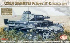 German Tank Pz.Kpfw. IV Ausf. E France 1940