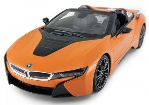 BMW i8 1:12 2.4GHz RTR (zasilanie na baterie AA) - Pomarańczowy