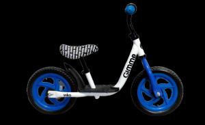 Rowerek biegowy z podestem Viko - niebieski