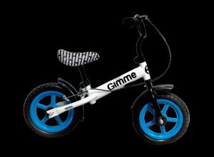Rowerek biegowy z hamulcem Nemo - niebieski