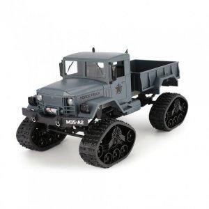 Ciężarówka wojskowa Goolsky 1:16 2.4GHz RTR - niebieska