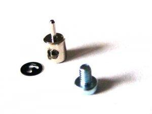 Mocowanie bowdena na serwo M1,5, 2 kompl.
