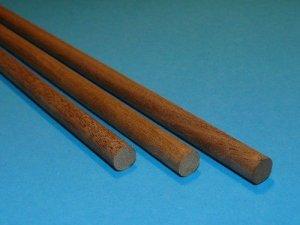 Kołek z drewna orzechowego Ø 2 mm