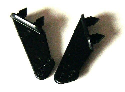 Dźwignie steru typ 2, 1mm, Czarne, 2 szt