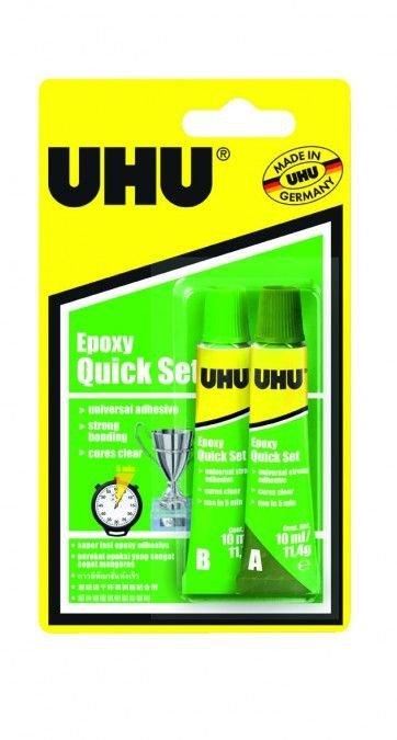 Klej UHU Plus Quick set 5 min 2x10ml