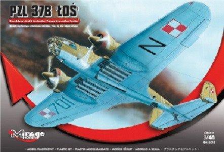 """PZL.37B """"Łoś"""" Dwusilnikowy średni bombowiec"""