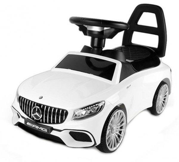 Jeździk pchacz Mercedes-Benz AMG - biały