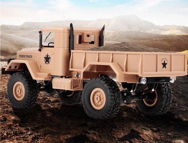 Ciężarówka wojskowa M35 1:16 2.4GHz RTR - żółta