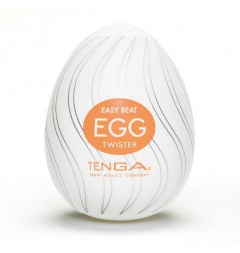 Dyskretny Masturbator - Tenga Egg - Twister