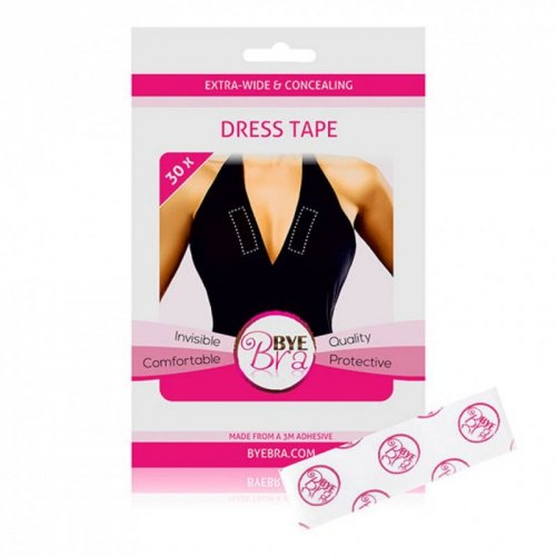 Taśma do stylizacji - Bye Bra Dress Tape Clear 30x